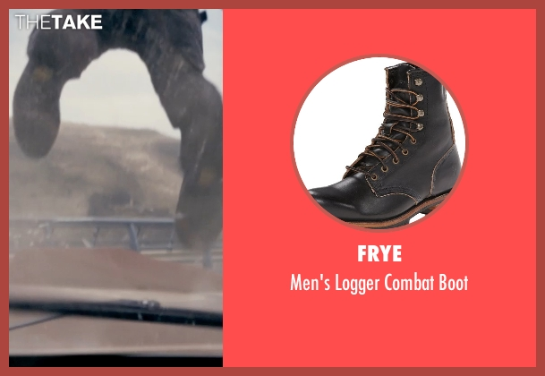 Frye black boot from Fast & Furious 6 seen with Vin Diesel (Dominic Toretto)