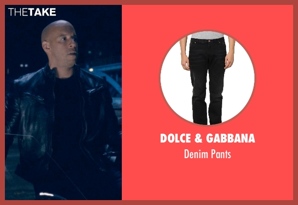 Dolce & Gabbana black pants from Fast & Furious 6 seen with Vin Diesel (Dominic Toretto)