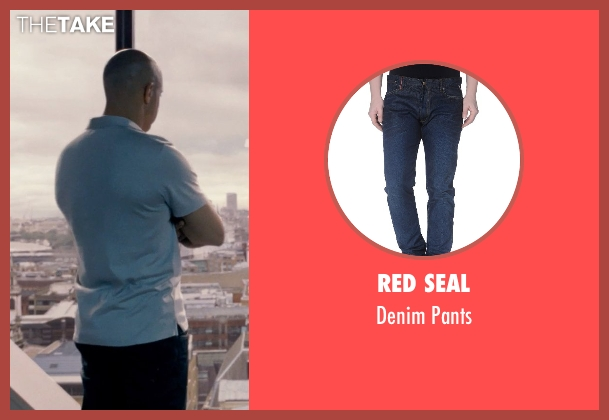 Red Seal blue pants from Fast & Furious 6 seen with Vin Diesel (Dominic Toretto)