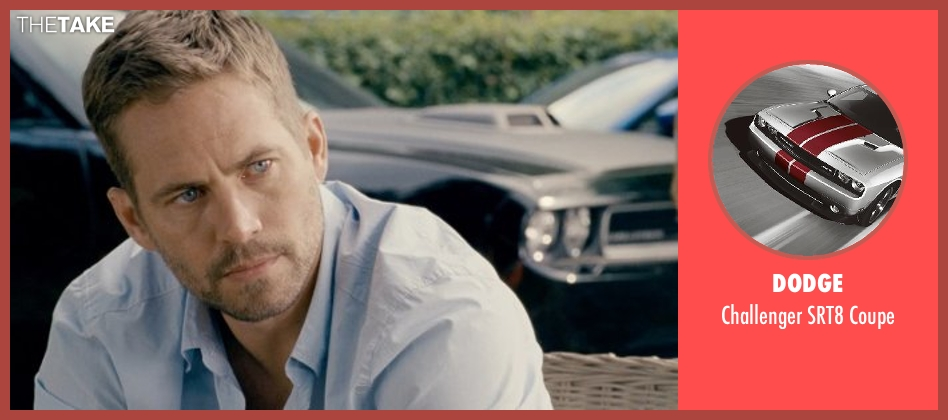 Dodge coupe from Fast & Furious 6 seen with Vin Diesel (Dominic Toretto)