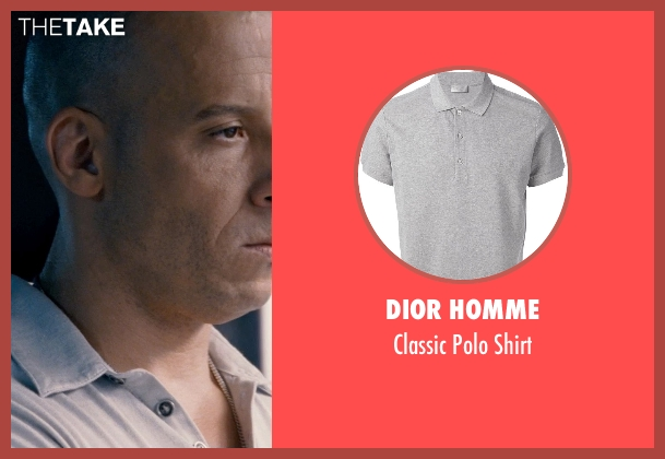 Dior Homme white shirt from Fast & Furious 6 seen with Vin Diesel (Dominic Toretto)