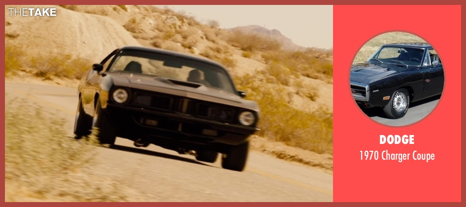 Dodge coupe from Furious 7 seen with Vin Diesel (Dominic Toretto)