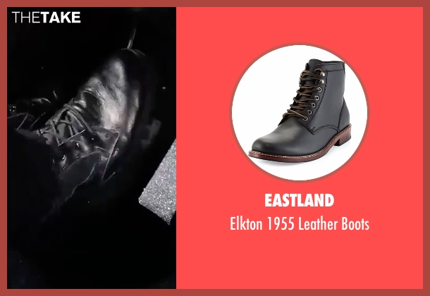 Eastland black boots from The Fate of the Furious seen with Vin Diesel (Dominic Toretto)