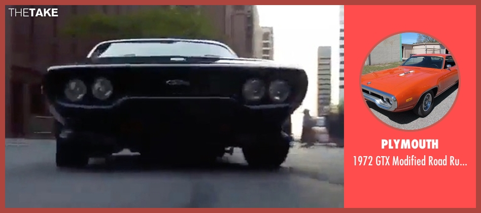 Race Car Jackets >> Vin Diesel Plymouth 1972 GTX Modified Road Runner Coupe from The Fate of the Furious | TheTake