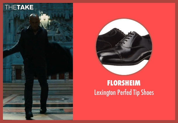 Florsheim black shoes from The Last Witch Hunter seen with Vin Diesel (Kaulder)