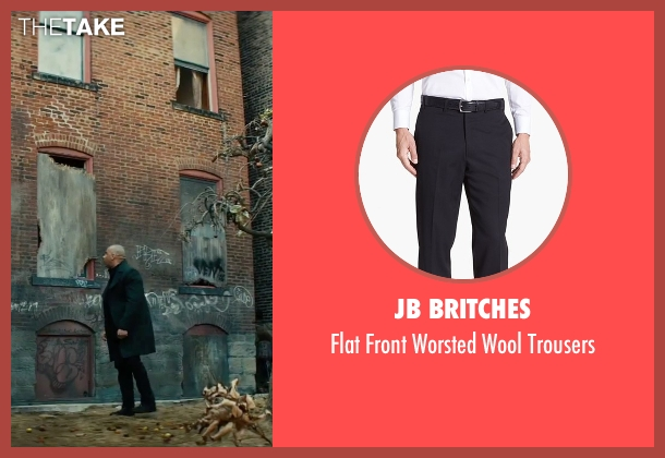 JB Britches black trousers from The Last Witch Hunter seen with Vin Diesel (Kaulder)