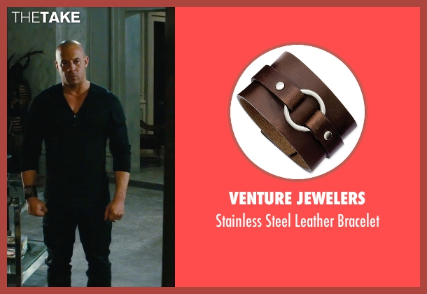 Venture Jewelers brown bracelet from The Last Witch Hunter seen with Vin Diesel (Kaulder)