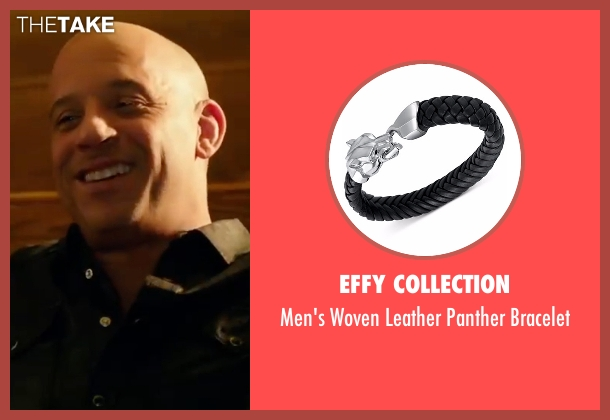 Effy Collection  black bracelet from xXx: Return of Xander Cage seen with Vin Diesel (Xander Cage)