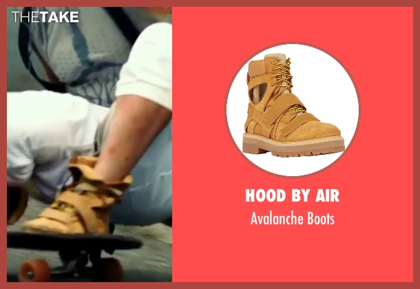 Hood By Air brown boots from xXx: Return of Xander Cage seen with Vin Diesel (Xander Cage)