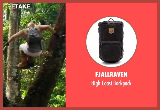 Fjallraven gray backpack from xXx: Return of Xander Cage seen with Vin Diesel (Xander Cage)