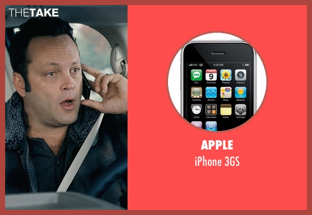 Apple 3gs from Couple's Retreat seen with Vince Vaughn (Dave)