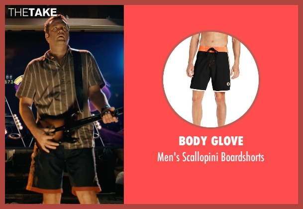 Body Glove black boardshorts from Couple's Retreat seen with Vince Vaughn (Dave)