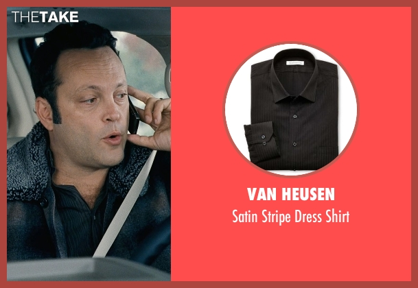 Van Heusen black shirt from Couple's Retreat seen with Vince Vaughn (Dave)
