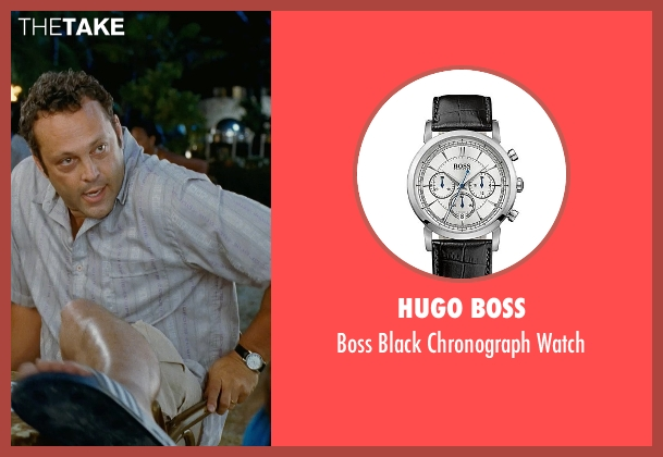 Hugo Boss black watch from Couple's Retreat seen with Vince Vaughn (Dave)