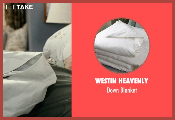 Westin Heavenly blanket from Couple's Retreat seen with Vince Vaughn (Dave)