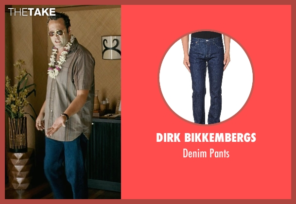 Dirk Bikkembergs blue pants from Couple's Retreat seen with Vince Vaughn (Dave)