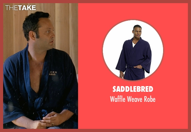 Saddlebred blue robe from Couple's Retreat seen with Vince Vaughn (Dave)