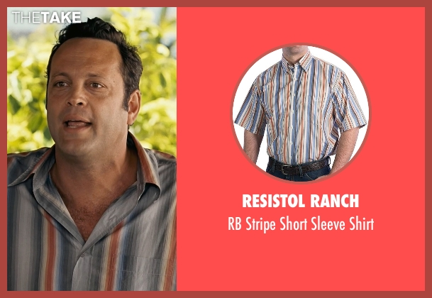 Resistol Ranch blue shirt from Couple's Retreat seen with Vince Vaughn (Dave)