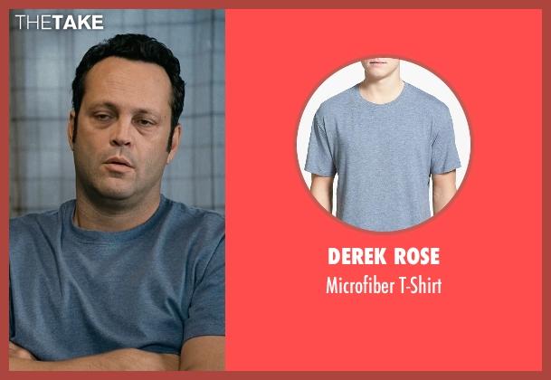 Derek Rose blue t-shirt from Couple's Retreat seen with Vince Vaughn (Dave)