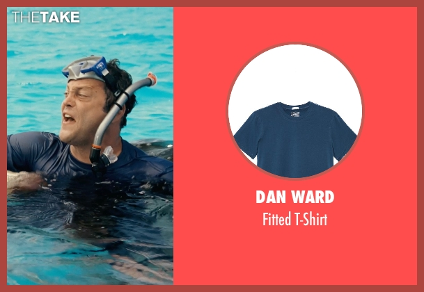 Dan Ward blue t-shirt from Couple's Retreat seen with Vince Vaughn (Dave)