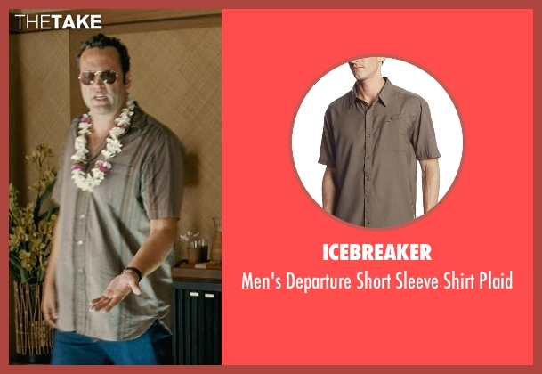Icebreaker brown plaid from Couple's Retreat seen with Vince Vaughn (Dave)