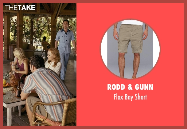 Rodd & Gunn brown short from Couple's Retreat seen with Vince Vaughn (Dave)