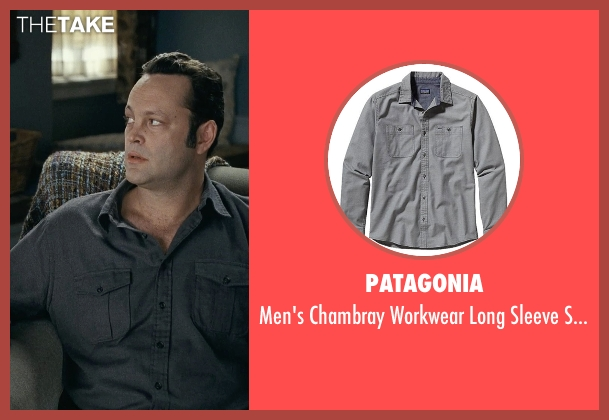 Patagonia gray shirt from Couple's Retreat seen with Vince Vaughn (Dave)