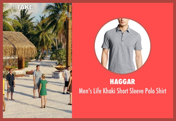 Haggar gray shirt from Couple's Retreat seen with Vince Vaughn (Dave)
