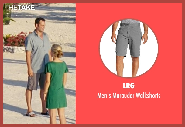 LRG gray walkshorts from Couple's Retreat seen with Vince Vaughn (Dave)