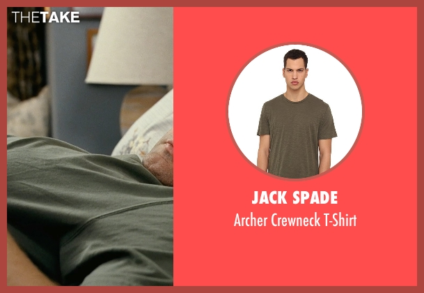 Jack Spade green t-shirt from Couple's Retreat seen with Vince Vaughn (Dave)