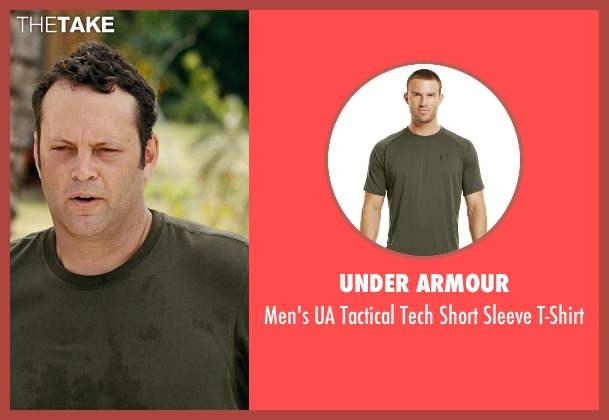 Under Armour green t-shirt from Couple's Retreat seen with Vince Vaughn (Dave)