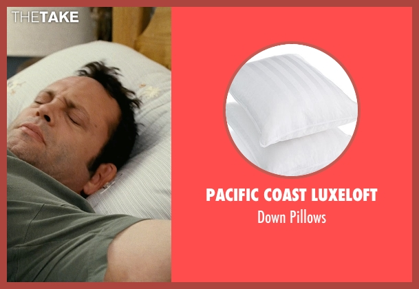 vince vaughn pacific coast luxeloft down pillows from couple 39 s retreat thetake. Black Bedroom Furniture Sets. Home Design Ideas