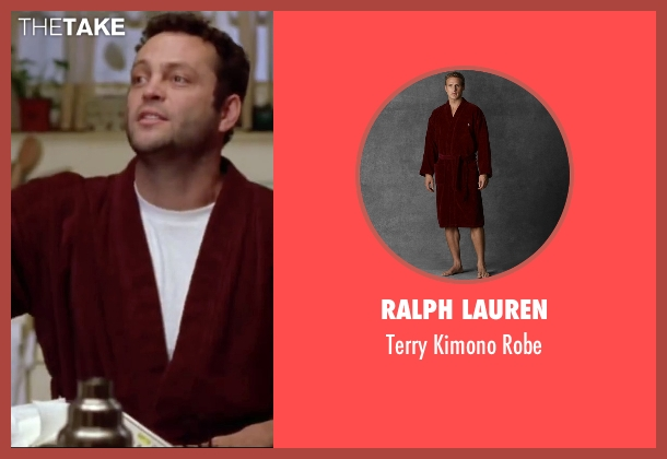 Ralph Lauren red robe from Mr. & Mrs. Smith seen with Vince Vaughn (Eddie)