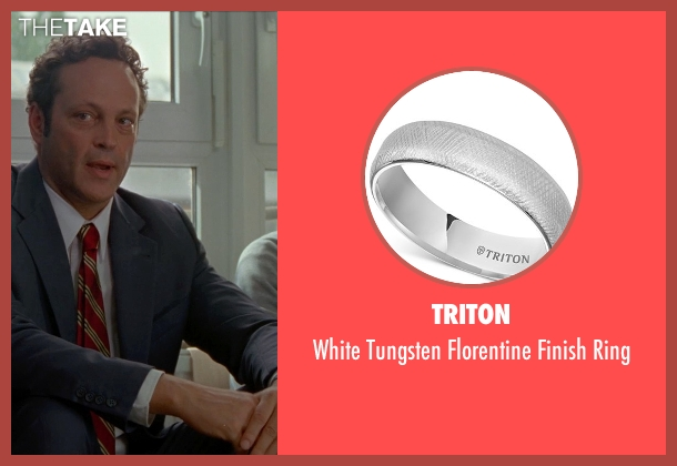 Triton silver ring from Unfinished Business seen with Vince Vaughn (Dan Trunkman)