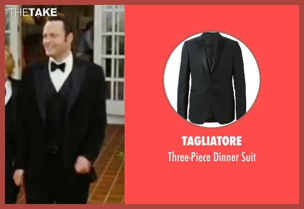 Tagliatore black suit from Wedding Crashers seen with Vince Vaughn (Jeremy Grey)