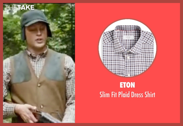 Eton brown shirt from Wedding Crashers seen with Vince Vaughn (Jeremy Grey)