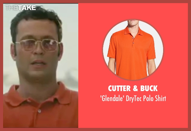 Cutter & Buck orange shirt from Wedding Crashers seen with Vince Vaughn (Jeremy Grey)