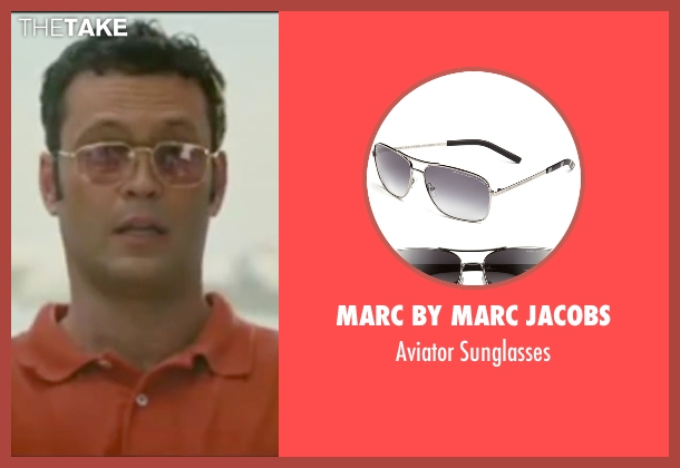 Marc By Marc Jacobs sunglasses from Wedding Crashers seen with Vince Vaughn (Jeremy Grey)