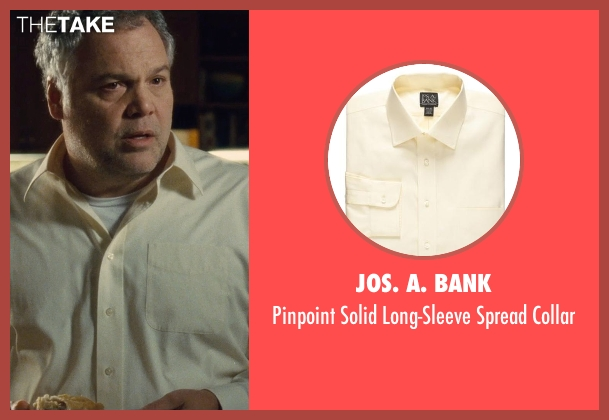 Jos. A. BANK yellow collar from The Judge seen with Vincent D'Onofrio (Glen Palmer)
