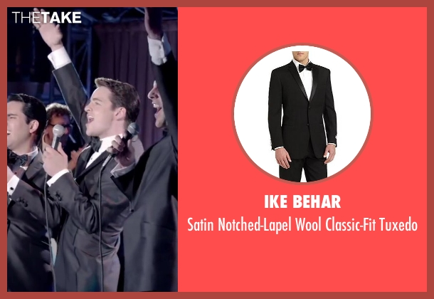 Ike Behar black tuxedo from Jersey Boys seen with Vincent Piazza (Tommy DeVito)