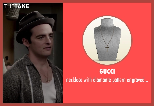 GUCCI pendant from Jersey Boys seen with Vincent Piazza (Tommy DeVito)