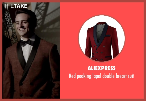 Aliexpress suit from Jersey Boys seen with Vincent Piazza (Tommy DeVito)