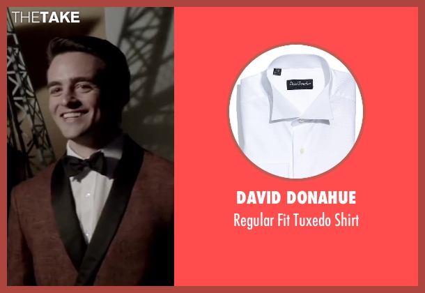 David Donahue white shirt from Jersey Boys seen with Vincent Piazza (Tommy DeVito)