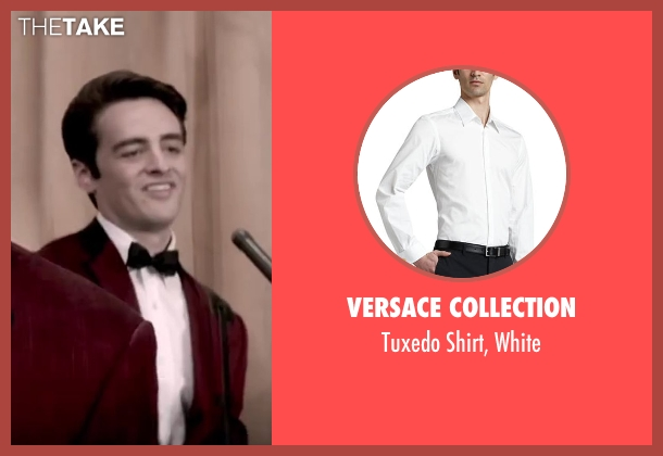 Versace Collection white white from Jersey Boys seen with Vincent Piazza (Tommy DeVito)