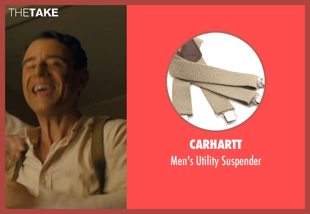 Carhartt suspender from Unbroken seen with Vincenzo Amato (Anthony Zamperini)