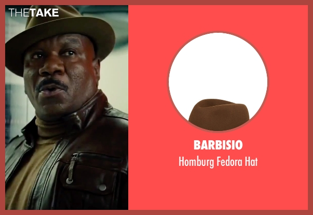 Barbisio brown hat from Mission: Impossible - Rogue Nation seen with Ving Rhames (Luther Stickell)