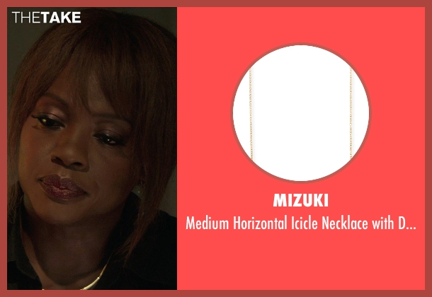 Mizuki	 gold diamonds from Blackhat seen with Viola Davis (Unknown Character)