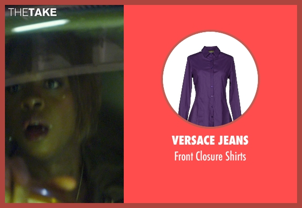 Versace Jeans purple shirts from Blackhat seen with Viola Davis (Unknown Character)