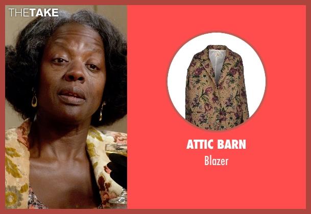 Attic Barn blazer from Get On Up seen with Viola Davis (Susie Brown)