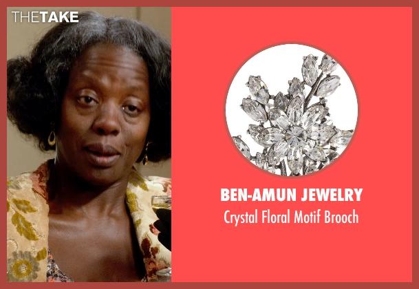 Ben-Amun Jewelry brooch from Get On Up seen with Viola Davis (Susie Brown)